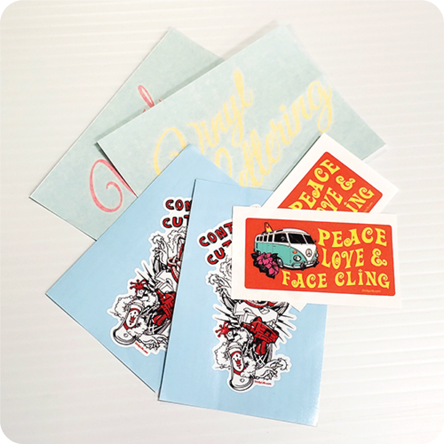 Decals, Stickers, or Clings?