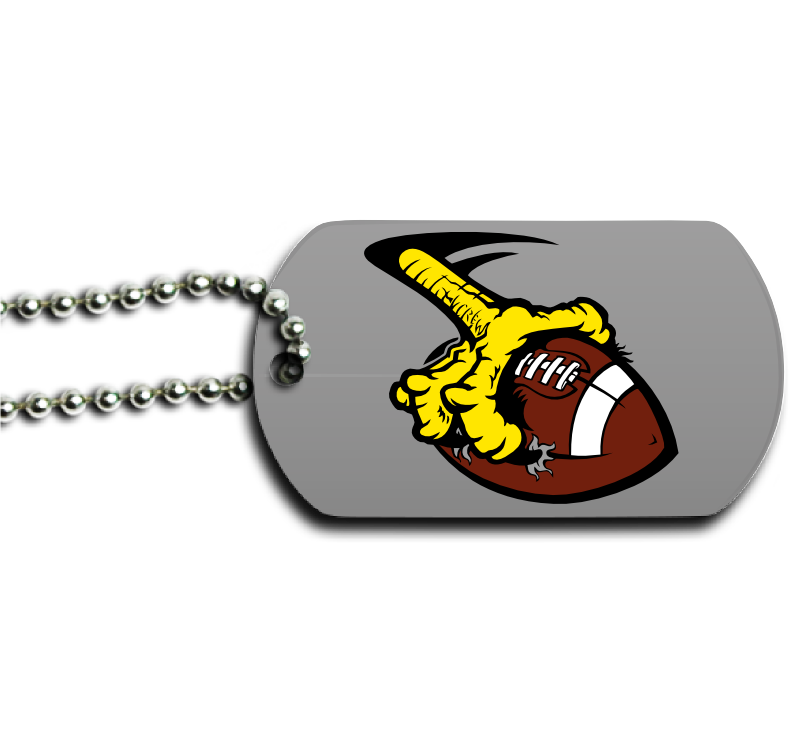 8aba93d31462 Football Dog Tag - Design and Buy