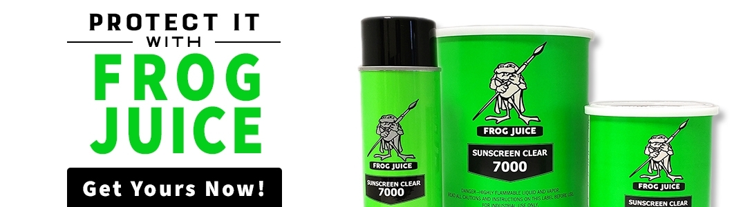 Get your Frog Juice sealant today!